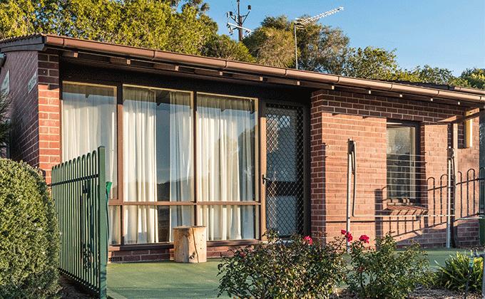 CCH Gumeracha retirement living unit facade