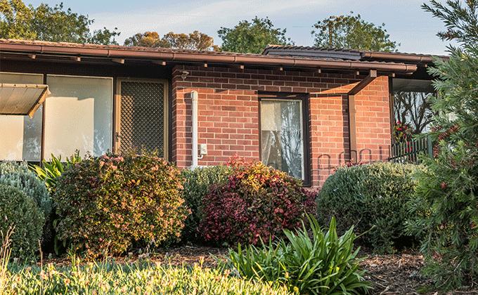 CCH Gumeracha retirement living unit exterior