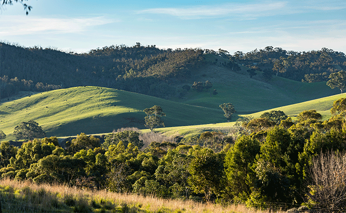 Gumeracha rolling hills