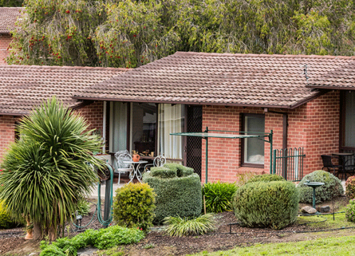 CCH Gumeracha independent living unit exterior