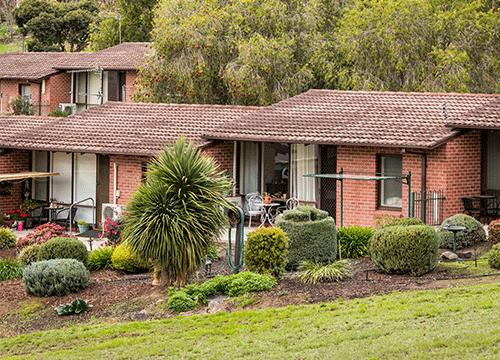 CCH Gumeracha retirement living units