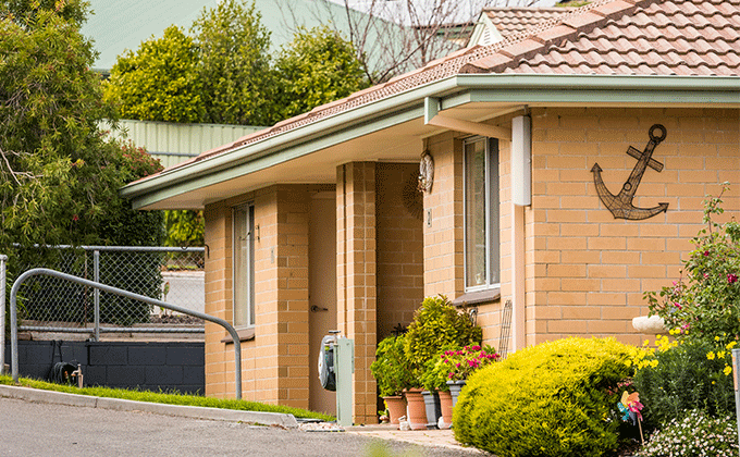 CCH Lobethal retirement living outside of unit