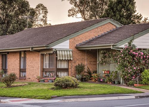 CCH Woodside retirement living unit