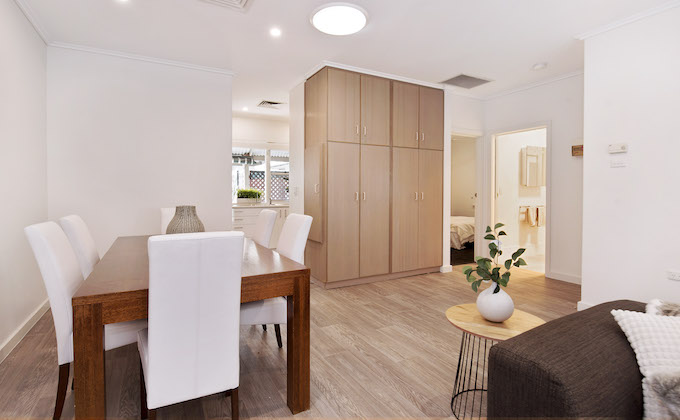 Queen Street Norwood retirement living unit interior